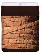 Spiral Bricks Duvet Cover