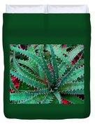 Spiral Cactus Duvet Cover