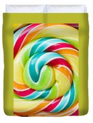 Spiral Candy  Duvet Cover