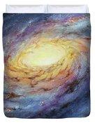 Spiral Galaxy 1 Duvet Cover