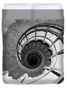 Spiral Staircase At The Arc Duvet Cover