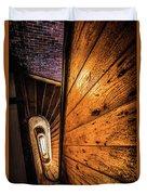 Spiral Stairwell Duvet Cover