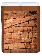 Spiraling Bricks Duvet Cover