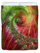 Spiralling Fractal Three Duvet Cover