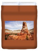 Spire Rocks At Kodachrome Basin State Park Duvet Cover