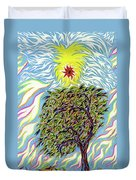 Spirit In The Tree Duvet Cover