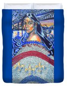 Spirit Of New Orleans/ 300 Years Duvet Cover