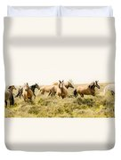 Spirit Of The Horse Duvet Cover