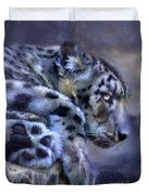 Spirit Of The Snow Duvet Cover