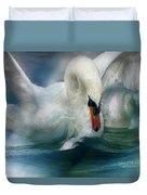 Spirit Of The Swan Duvet Cover