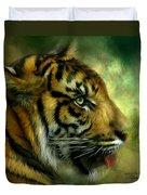 Spirit Of The Tiger Duvet Cover
