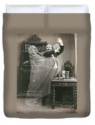 Spirit Photograph, 1863 Duvet Cover