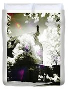 Spirits And Church Duvet Cover