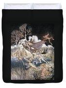 Spirits In Sleepy Hollow Duvet Cover