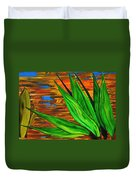 Spiritual Beingness Of Plants And Theta Duvet Cover