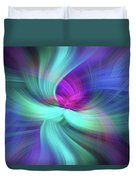 Spiritual Freedom. Mystery Of Colors Duvet Cover