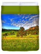 Spiritual Sky Duvet Cover by Scott Mahon