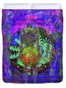 Spiritual Traveler Duvet Cover by Joseph Mosley