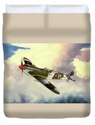 Spitfire Duvet Cover by Marc Stewart