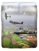 Spitfire Sweep Colour Version Duvet Cover
