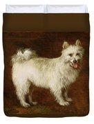 Spitz Dog Duvet Cover by Thomas Gainsborough
