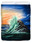 Splash Of Color  Duvet Cover