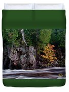 Splash Of Fall Color Duvet Cover