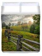 Splash Of Morning Light Duvet Cover