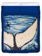 Ocean Tail Duvet Cover