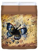 Splatter Butterfly Duvet Cover