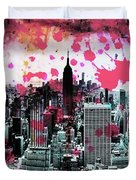 Splatter Pop Duvet Cover