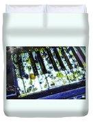 Splattered Keys Duvet Cover