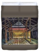 Splendor In The Barn Duvet Cover