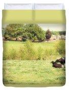 Splendor In The Grass Duvet Cover