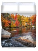 Splendor Of Fall Duvet Cover