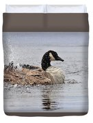 Splish Splash - Canada Goose Duvet Cover