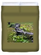 Split Rail Duvet Cover
