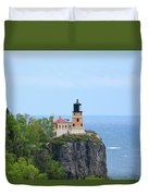 Split Rock Beacon Duvet Cover