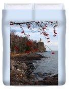 Split Rock Berries Duvet Cover
