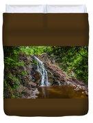 Split Rock Falls Duvet Cover