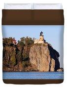 Split Rock Lighthouse  9321 Duvet Cover