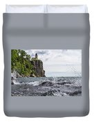 Splitrock Lighthouse 8-4-17 Duvet Cover