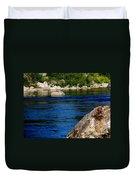 Spokane River Duvet Cover