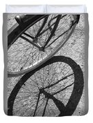 Spoke Shadows Duvet Cover