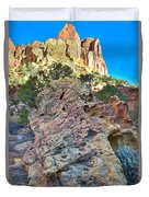 Sponge Boulder Duvet Cover