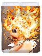Spontaneous Combustion Duvet Cover