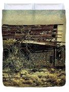 Spooky Broken House Duvet Cover