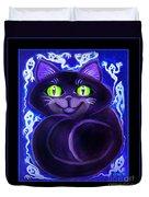 Spooky Cat Duvet Cover