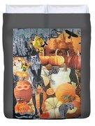 Spooky Harvest Duvet Cover