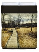 Spooky Hike On The Appalachian Trail Duvet Cover